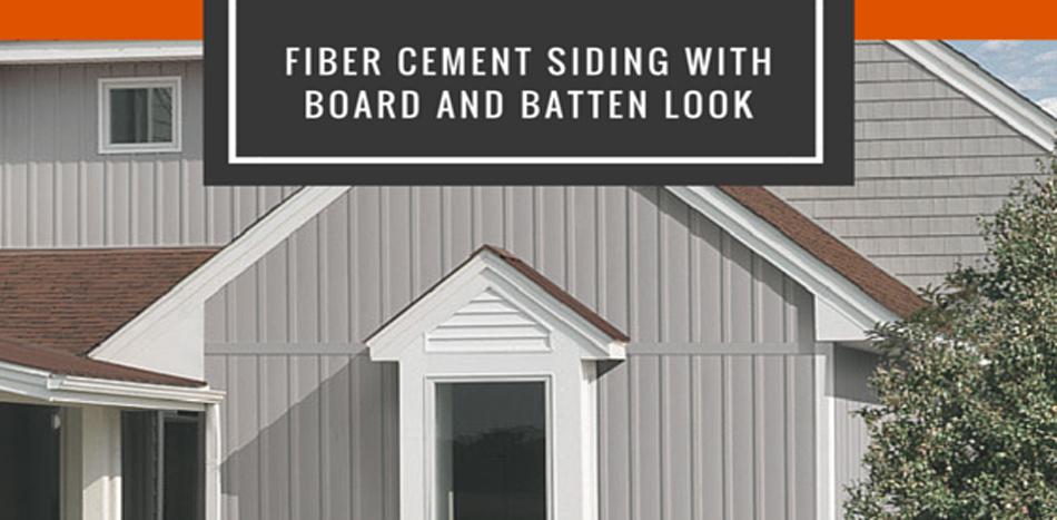 Board batten fiber cement siding 2016