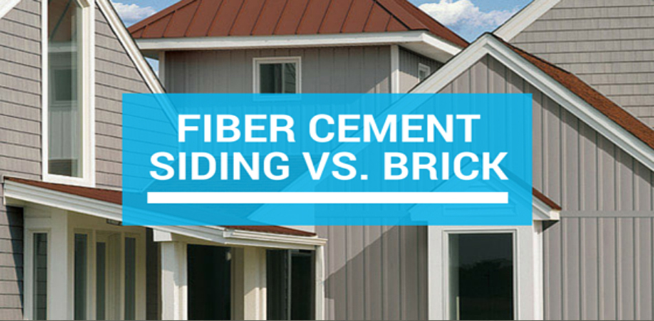 Fiber cement siding vs brick