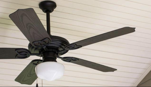 Porch ceiling header