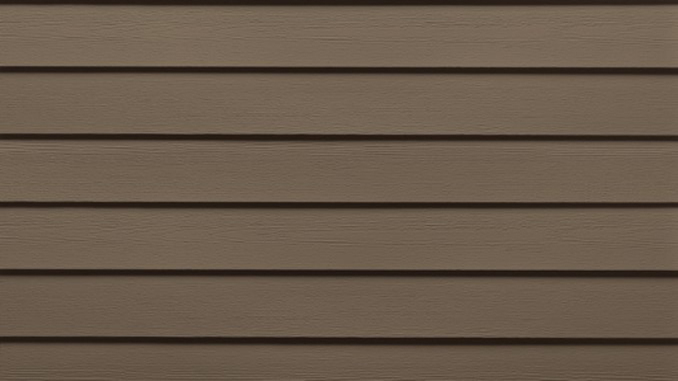 Sable brown siding